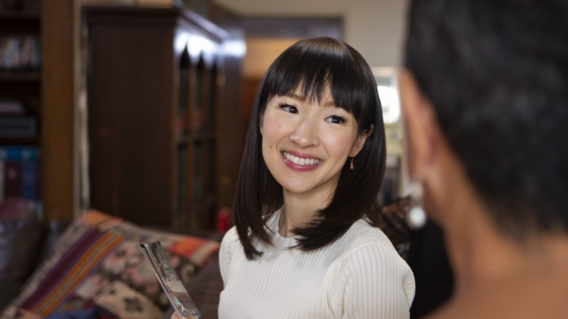 """""""Tidying Up with Marie Kondo' sees the Japanese interiors expert tackling real people's clutter"""