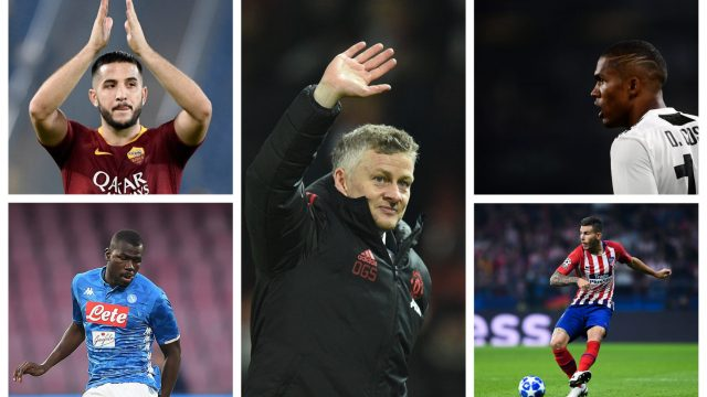 Manchester United's rumoured January targets appear to be predominately about strengthening at centre-back (Getty Images)