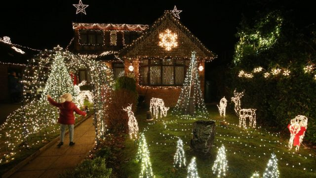 We tend to take our Christmas decorations down in early January but the Tudors used to leave them up until February (PA)