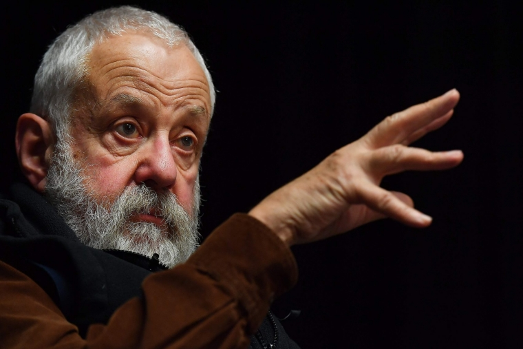 British writer and film director Mike Leigh featured in Drama Out of a Crisis: A Celebration of Play for Today (Photo: Ben Stansall/AFP)