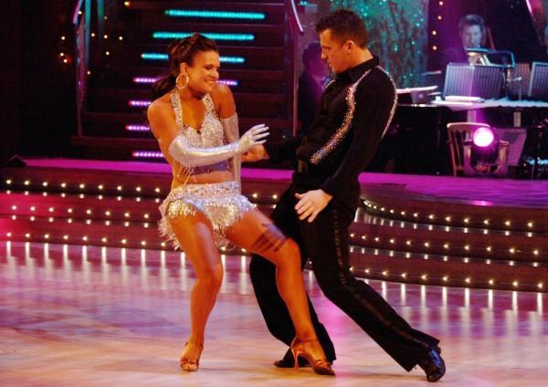 Darren Gough danced to success in 2005 (Photo: BBC)