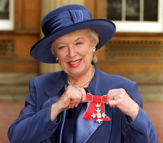 Dame June Whitfield passed away aged 93 (Fiona Hanson/PA Wire)