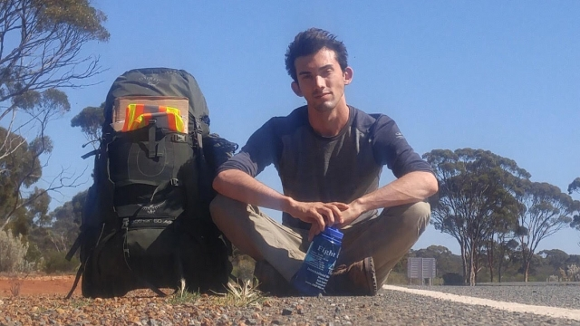 24-year-old Trevor Daneliuk has spent eight months hitchhiking around North American and Europe (Photo: Trevor Daneliuk)