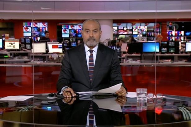 George Alagiah returned to BBC News at Six after treatment