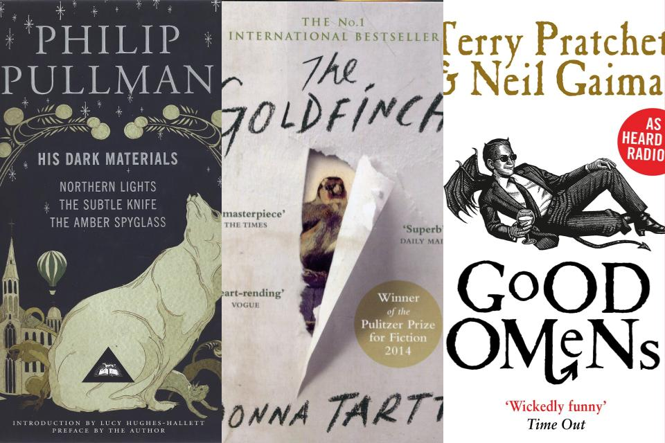 Books by Philip Pullman, Donna Tartt and Neil Gaiman are heading to screens this year
