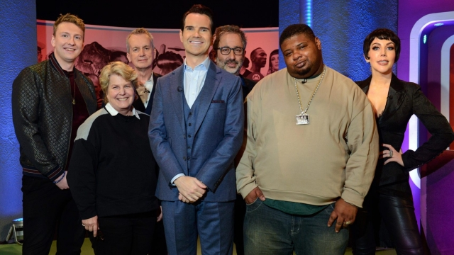 Jimmy Carr will be joined by a whole host of stars for the Big Fat Quiz Of Everything (Photo: Channel 4)