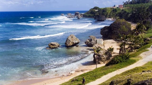 Coast-line, Bathsheba, Barbados, Caribbean. (Photo: Press)