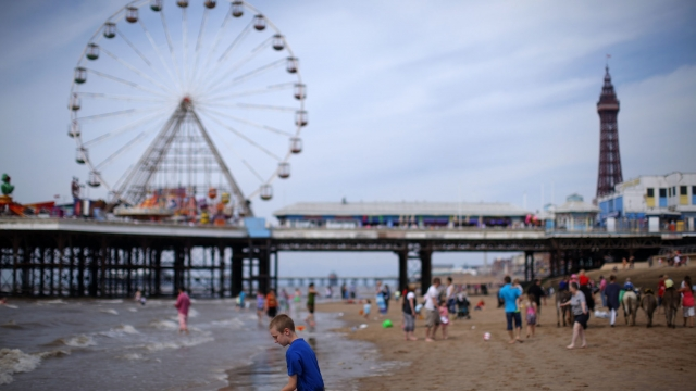Blackpool is one the 24 Key Cities that have made a post-Brexit settlement demand (Photo: Getty Images)