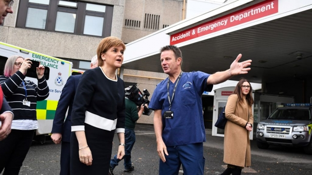 The Treatment Time Guarantee (TTG) was written into law by Nicola Sturgeon (Photo: Getty)