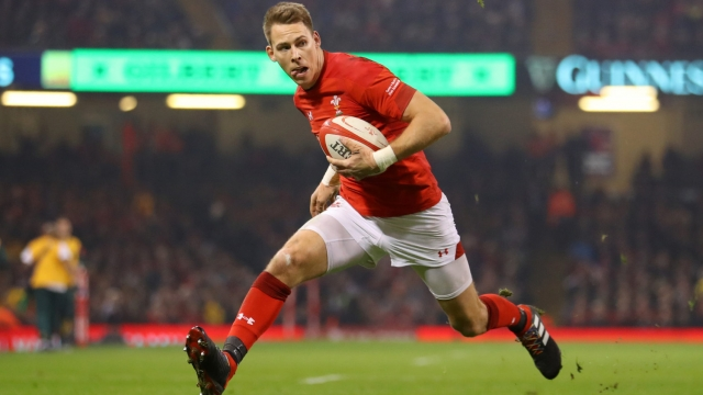 Liam Williams on the charge for Wales (Getty Images)