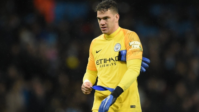 Man City goalkeeper Ederson is facing a race against time to be fit for Sunday