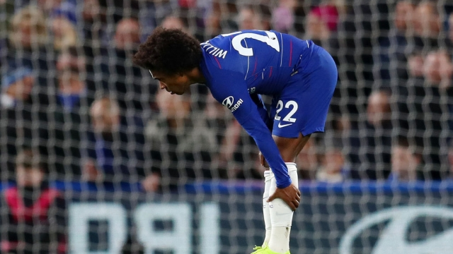 Willian picked up an injury against Southampton on Wednesday (Getty Images)