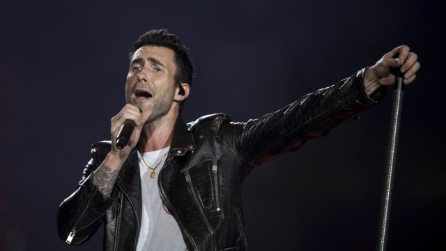 Maroon 5 will be performing at the Super Bowl halftime show (Photo: MAURO PIMENTEL/AFP/Getty Images)