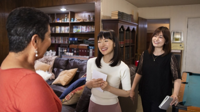 Marie Kondo is helping people tidy up - could she help you too? (Netflix)