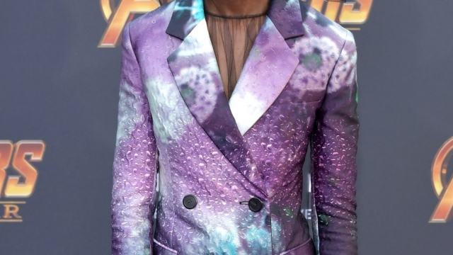 Letitia Wright attends the premiere of Disney and Marvel's 'Avengers: Infinity War' (Getty Images)