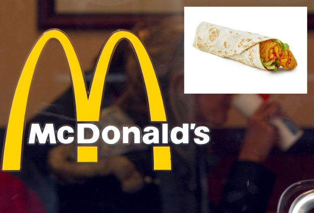 McDonalds' new Veggie Wrap Happy Meal has been approved by the Vegetarian Society (Photo: Getty Images)