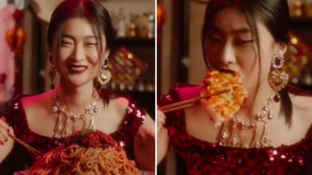 Zuo Ye filmed three videos for D&G, which were shared on its social media channels