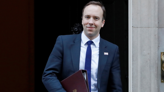 Health Secretary Matt Hancock is among those tipped to be the next Tory leader