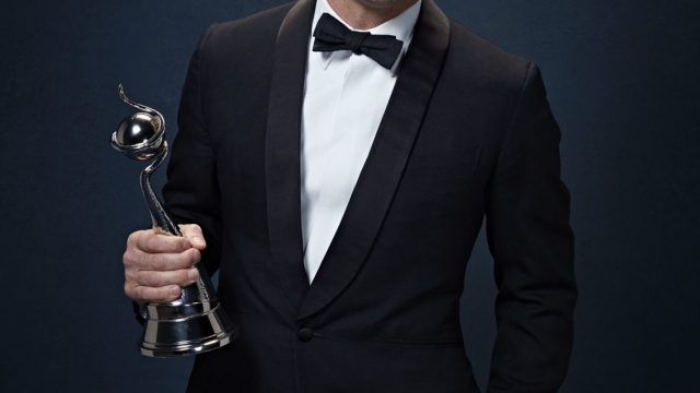 Dermot O'Leary joked that he would 'chuck the towel in' if Ant and Dec won the best presenter award (Photo: ITV)