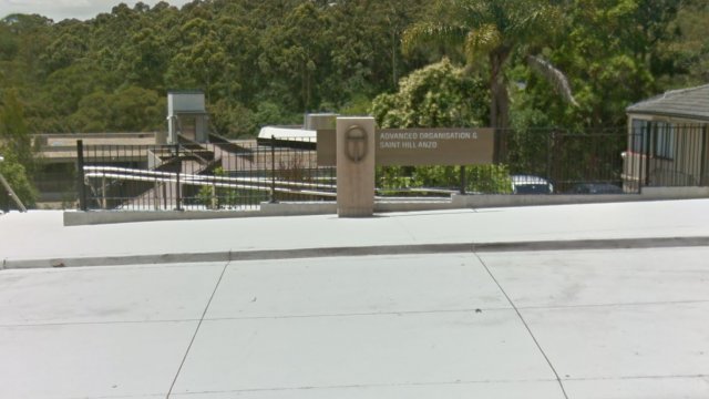 The stabbing took place outside the Scientology building in Chatswood (Photo: Google Maps)