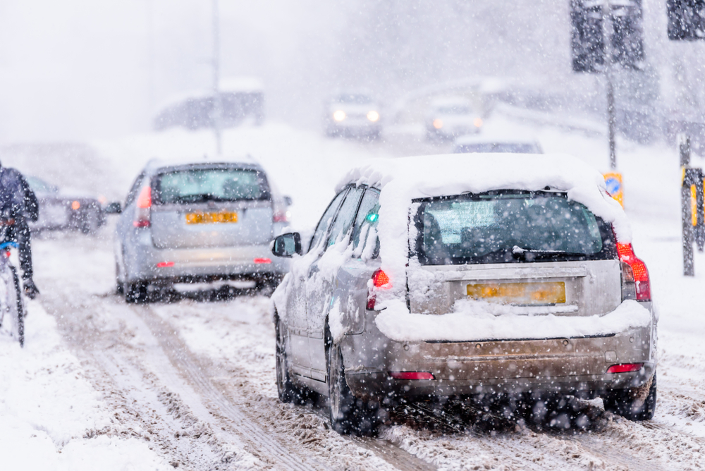 How to drive in snow and ice: safety tips for driving in UK winter weather
