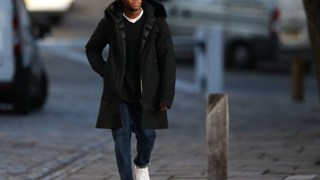 Ceon Broughton arrives at Winchester Crown Court where he is charged in connection with the death of Louella Fletcher-Michie (Photo: Andrew Matthews/PA Wire)