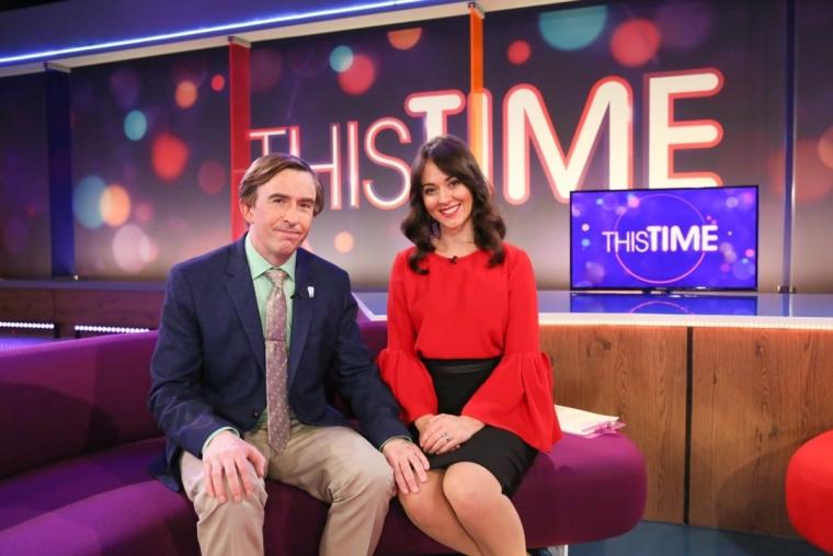 Picture Shows: Alan Partridge (Steve Coogan), Jennie (Susannah Fielding). (Photo: BBC Still)