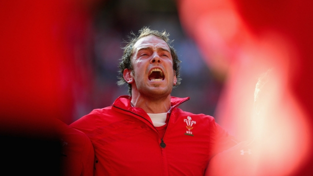 Few sing the national anthem louder or prouder than Wales captain Alun Wyn Jones (Getty Images)