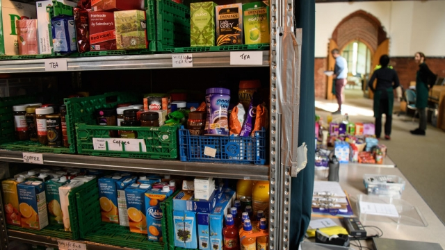 Record number of food parcels