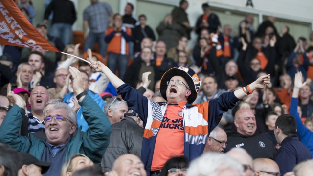 League One high-fliers Luton believe on-pitch success should be reflected off it (Getty Images)