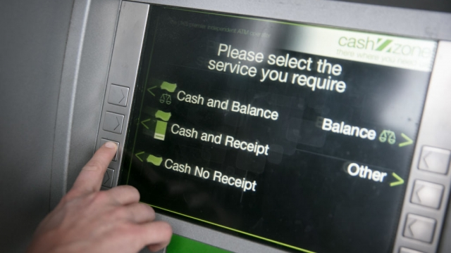 For many people in the UK, free cash machines are still a necessity (Photo: Getty)