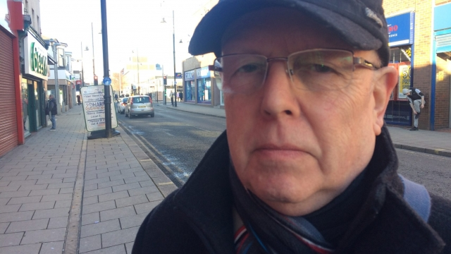 Sunderland resident and Leave voter John Childs, 71, says he would vote for Brexit again (Photo: Dean Kirby)