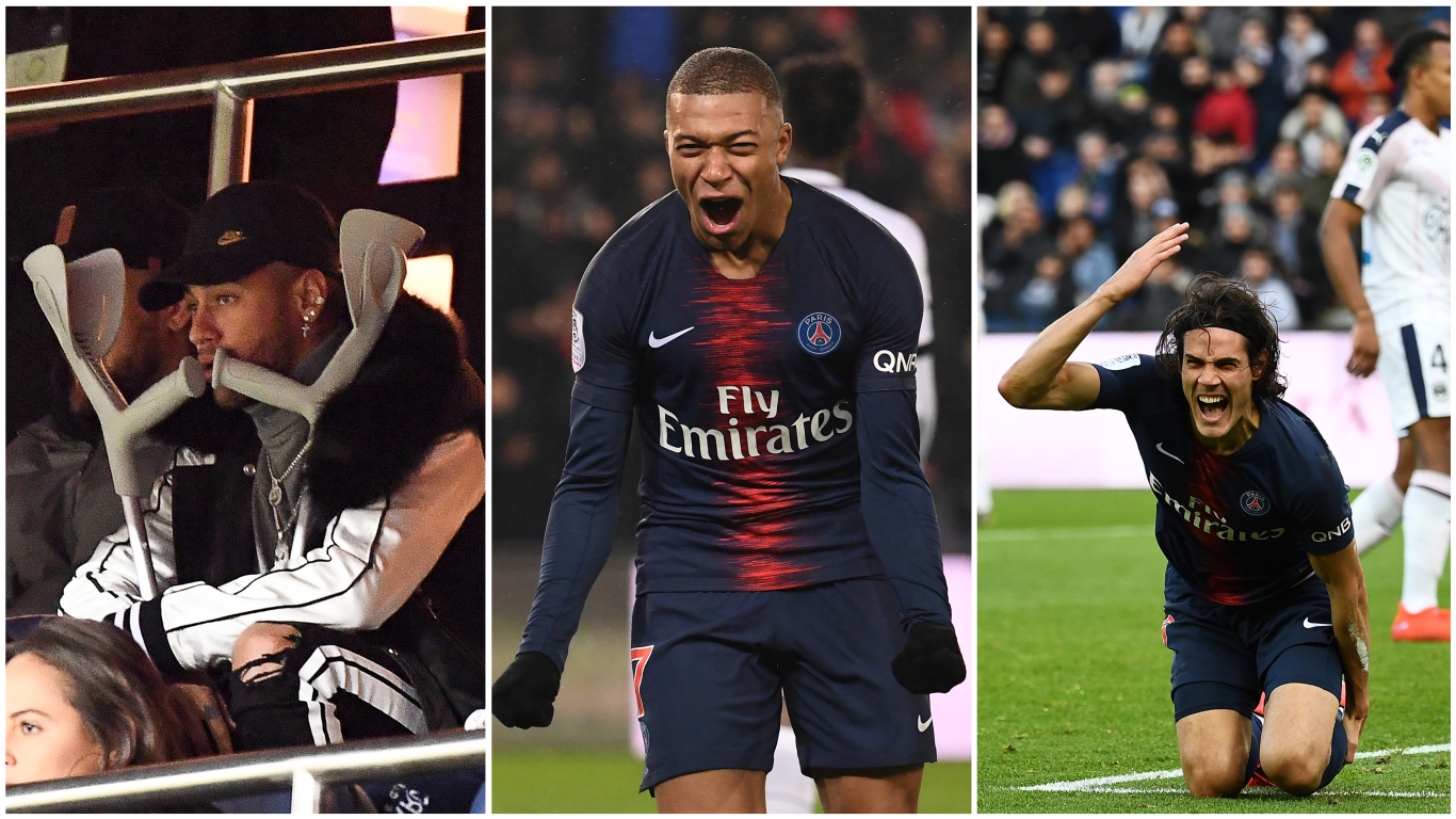 PSG team news: Latest Cavani and Neymar injury updates ...