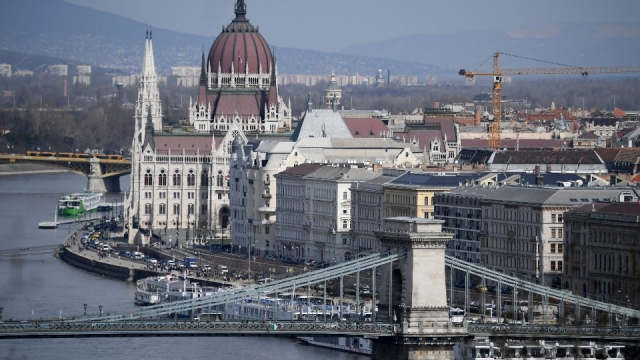 Bank of the river Danube in Budapest. (Photo: AFP/Getty)