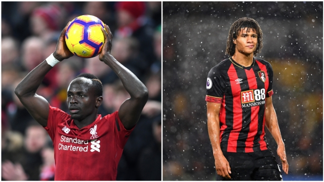 Nathan Ake will have his hands full while trying to frustrate a dangerous Liverpool front three (Getty Images)