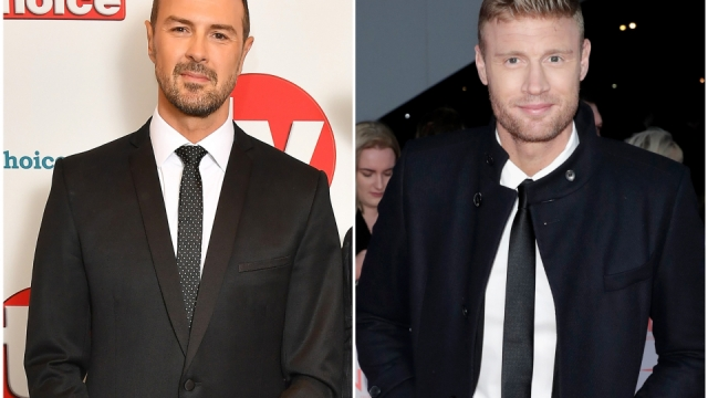 Article thumbnail: Paddy McGuinness and Freddie Flintoff will join the team for the next series (Photo: Getty)