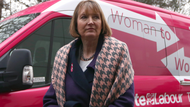 Harriet Harman is chair of the Joint Committee on Human Rights