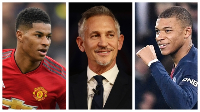 Gary Lineker Reveals The Key Difference Between Marcus Rashford And Kylian Mbappe
