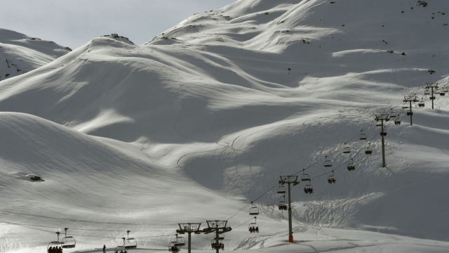 Meribel is one of the Alps' most popular resorts - but how is it for first-time skiers? (Photo: PHILIPPE DESMAZES/AFP/Getty Images)