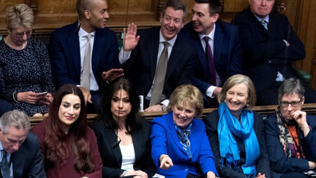The Independent Group sit together at Prime Minister's Questions in the House of Commons (Photo: PA)