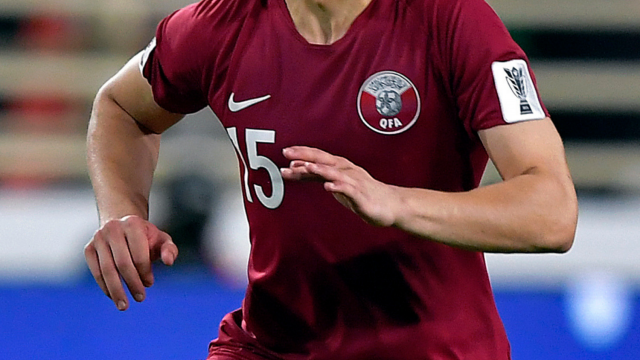 Ali Issa Ahmad says he was attacked while wearing the Qatari national shirt (Photo: Getty)
