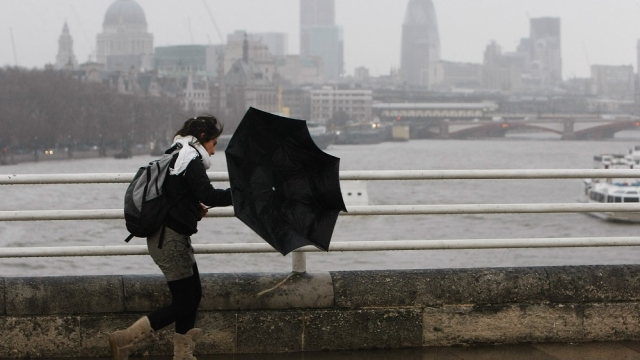 Forecasters have warned wet and windy weather is on its way. (Photo: Daniel Berehulak/Getty)
