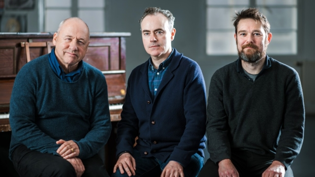 Mark Knopfler, John Crowley and David Greig are adapting the cult film Local Hero for the stage. Photo: Mihaela Bodlovic