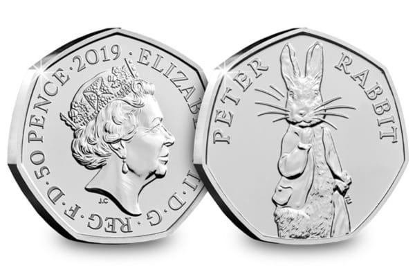 peter rabbit coin royal mint