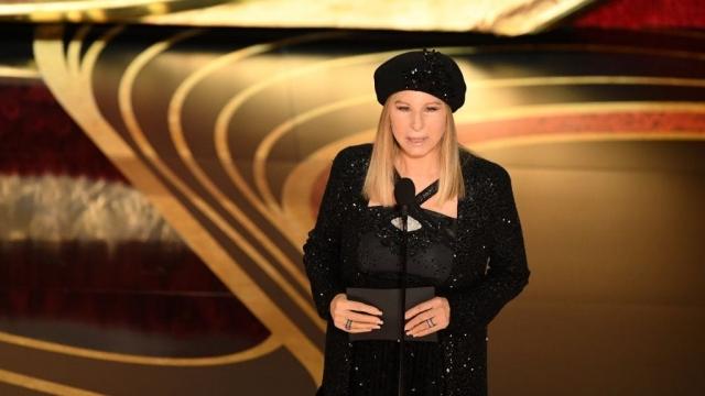Barbra Streisand at the 2019 Oscars (Photo: Getty)
