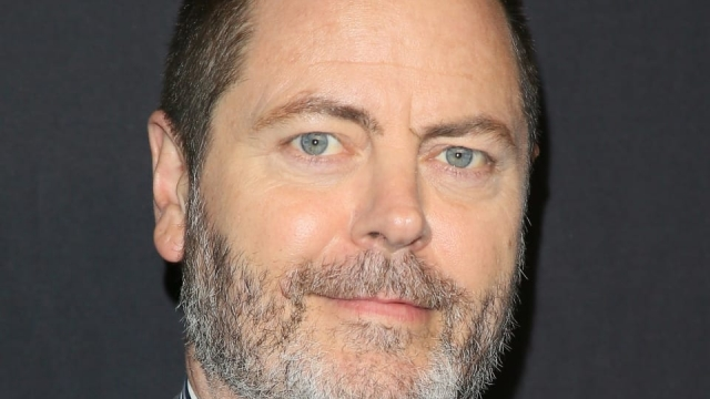 Nick Offerman will tour in the UK this summer (Photo: JB Lacroix/Getty Images)