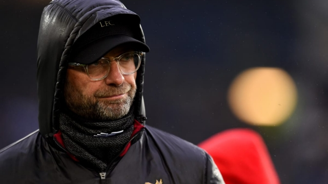 Jurgen Klopp was not the happier of the two managers after the Merseyside derby