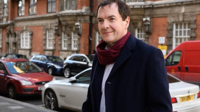 Evening Standard editor George Osborne delivered the 2019 Hugh Cudlipp journalism lecture (Getty Images)