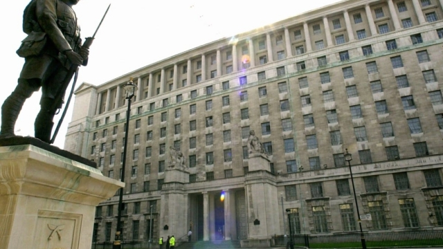 The Ministry of Defence headquarters (Photo: Toby Melville/PA Wire)