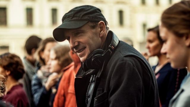 Ralph Fiennes on the set of The White Crow, his third film as director Studiocanal Image from http://www.studiocanalpress.co.uk/press/single/1963